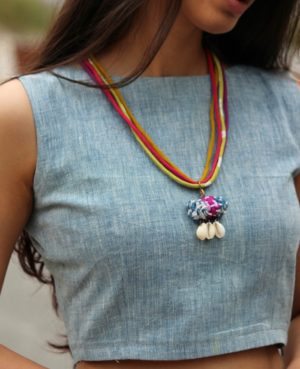 Handwoven Bali Necklace By Qurcha