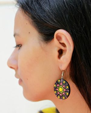 Dot Art Earrings