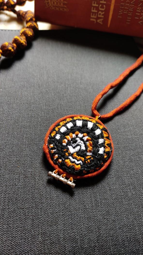 Hand Embroidered Banjara Necklace