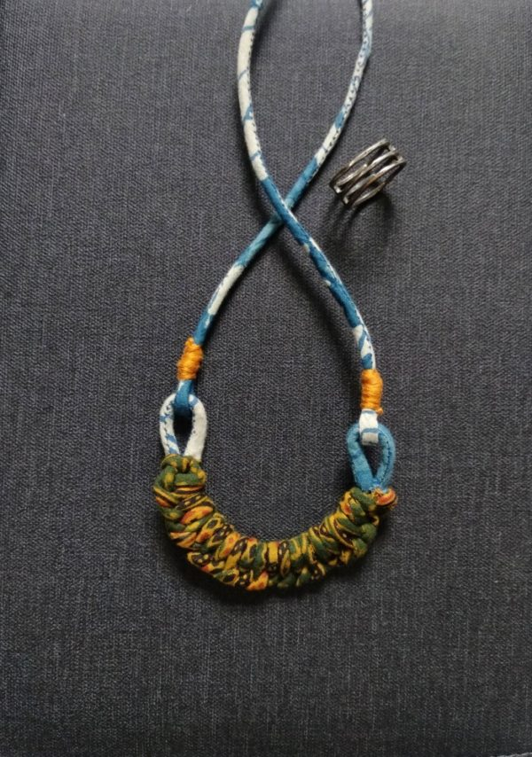 Macrame Necklace By Qurcha