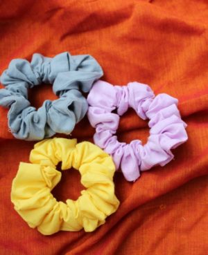 Cotton Scrunchies By Qurcha