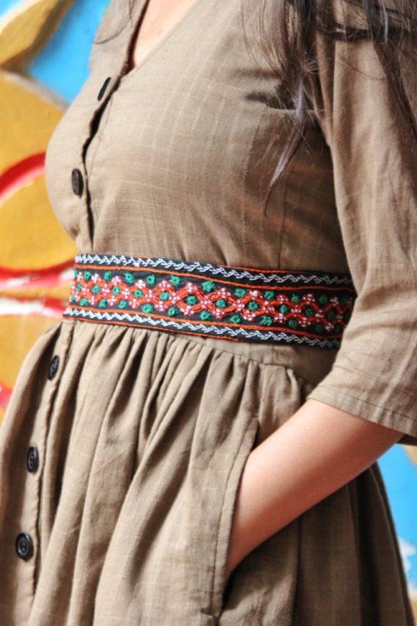 Hand Embroidered Belt By Qurcha