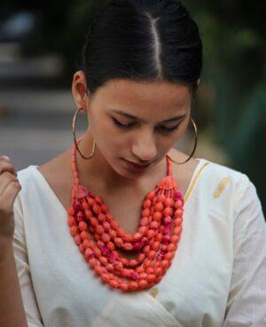 Gulmohar Necklace