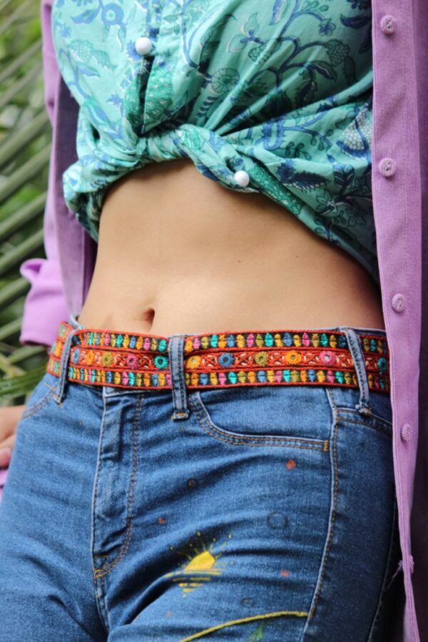 Bageecha Kutchi Waist Belt By Qurcha