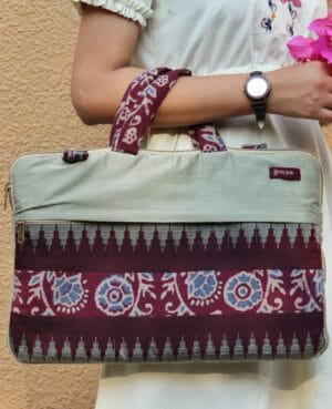 Fabric Laptop Bag By Qurcha