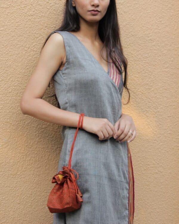 Silk Potli Bag By Qurcha