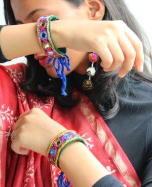 Satrangi Bracelet By Qurcha